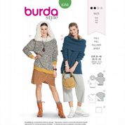 6356 Burda Pattern: Misses' Knit Pullover